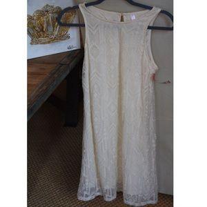 NWT Target white lace sun dress